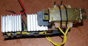 The independent analog power supply module