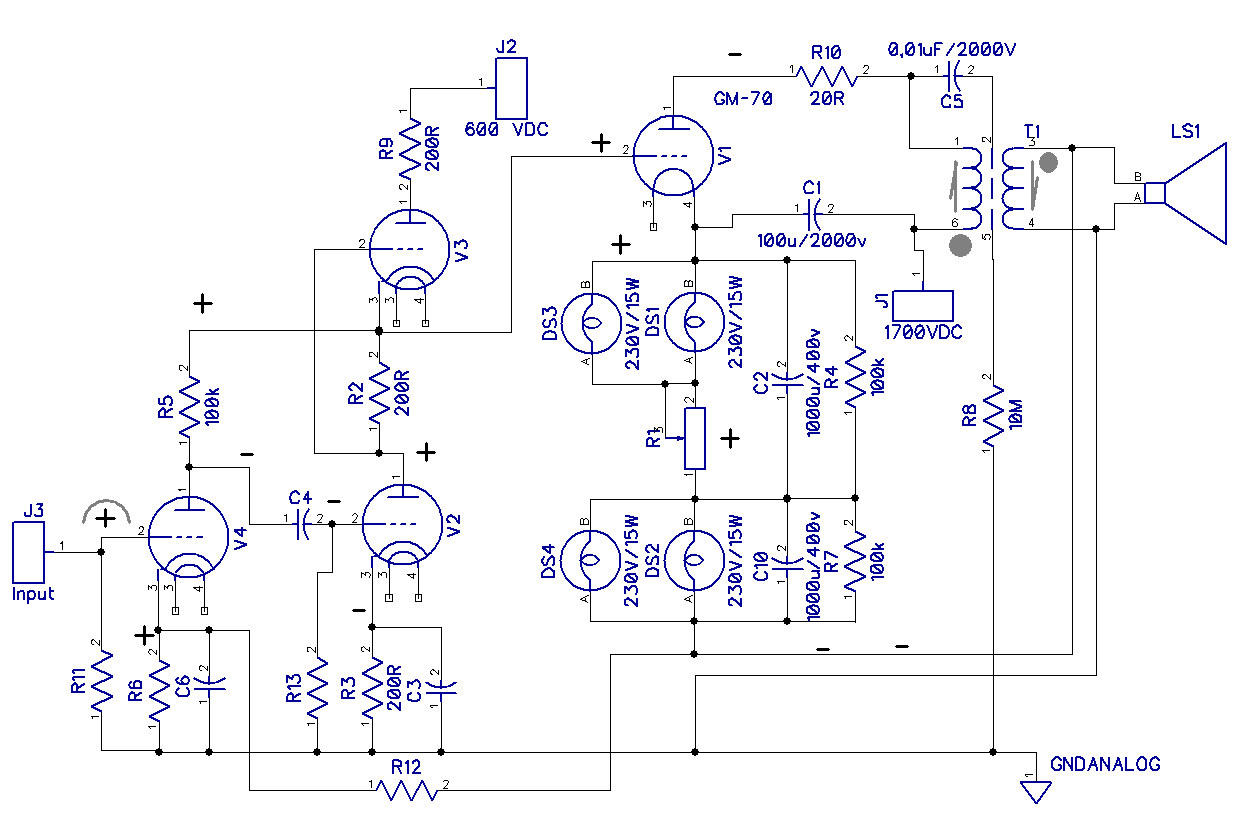 in addition 811a Single Ended Triode Power furthermore L2 additionally Spirit Ia100 additionally KT88 Push Pull Tube. on tube audio amplifier schematics