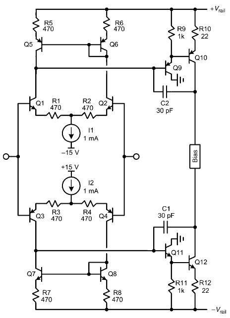 vacuum tube guitar amplifier schematics