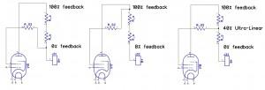 UL resistor based pentode - triode - & UL mode