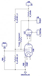 UL resistor based preamp w. Cascode